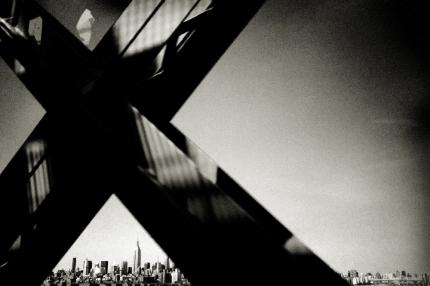 New York na fotografiích Andrease H. Bitesnicha