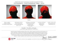 PREZENTACE KNIHY: FOTOGRAFIE / PHOTOGRAPHS 1969–2014